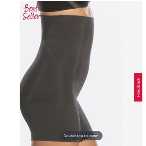 Spanx OnCore High Waist Mid Thigh Shaper Small